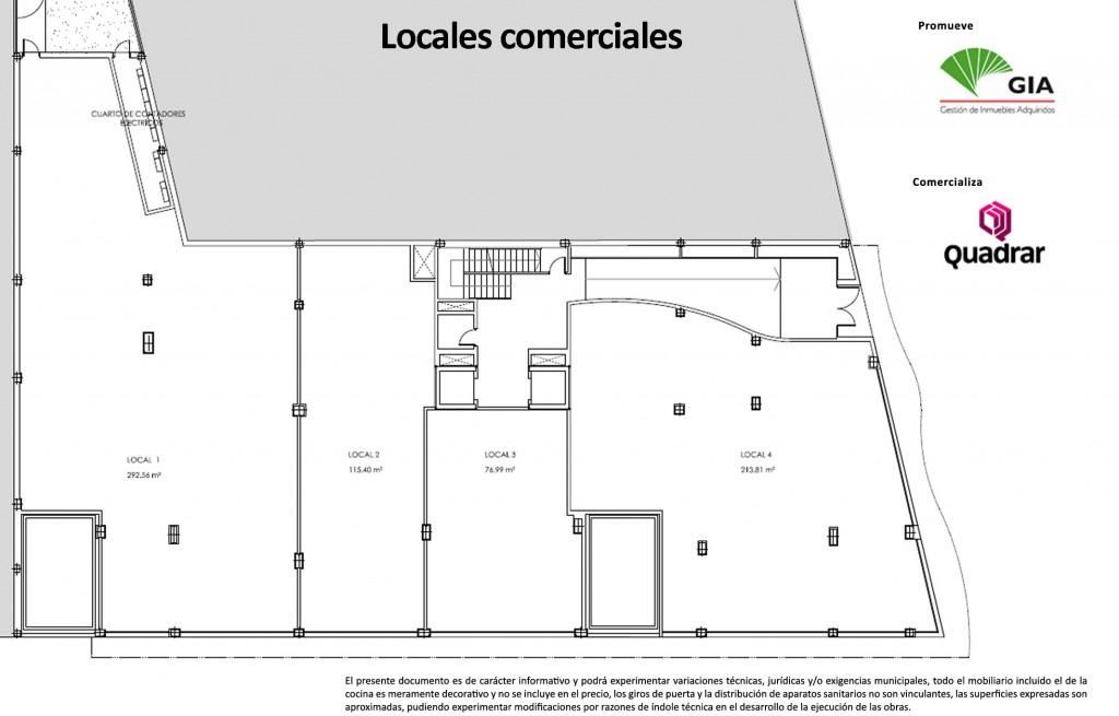 Edificio teatinos planos quadrar for Planos de locales